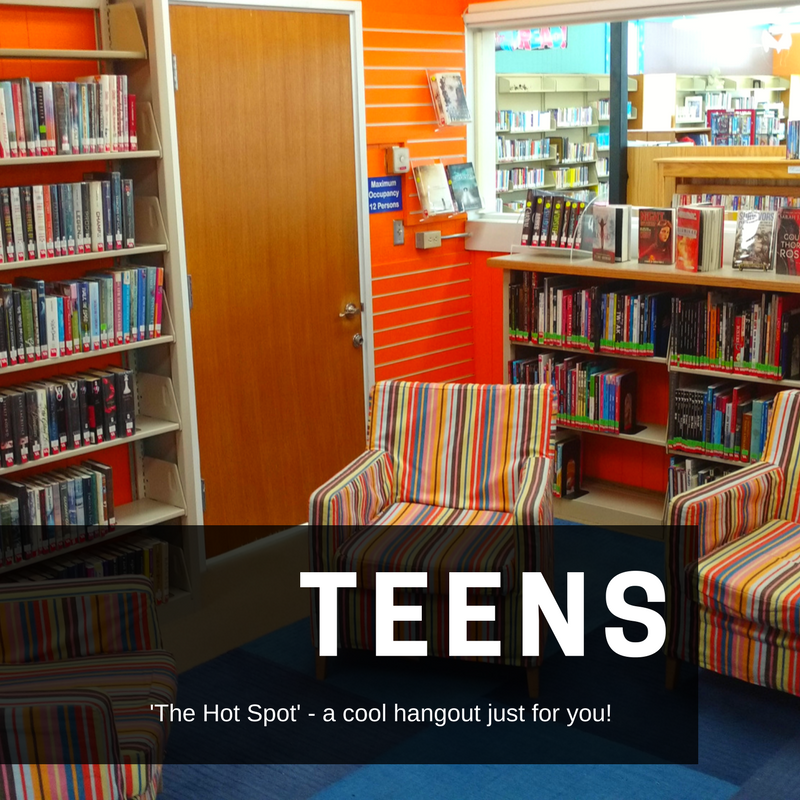Things for teens at Harney County Library.